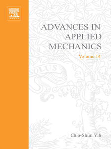 Ebook in inglese ADVANCES IN APPLIED MECHANICS VOLUME 14 -, -