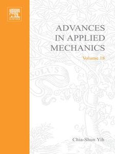 Ebook in inglese ADVANCES IN APPLIED MECHANICS VOLUME 18