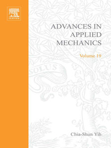 Foto Cover di ADVANCES IN APPLIED MECHANICS VOLUME 19, Ebook inglese di  edito da Elsevier Science