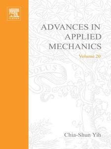 Foto Cover di ADVANCES IN APPLIED MECHANICS VOLUME 20, Ebook inglese di  edito da Elsevier Science