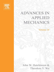 Ebook in inglese ADVANCES IN APPLIED MECHANICS VOLUME 24 -, -