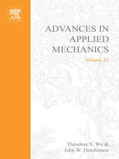 ADVANCES IN APPLIED MECHANICS VOLUME 25