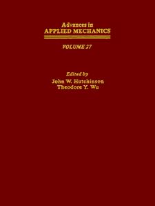 Ebook in inglese ADVANCES IN APPLIED MECHANICS VOLUME 27 -, -