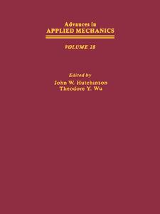 Foto Cover di ADVANCES IN APPLIED MECHANICS VOLUME 28, Ebook inglese di  edito da Elsevier Science