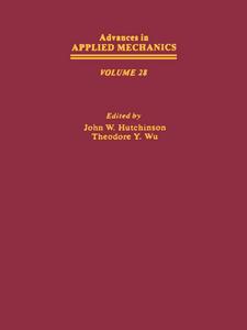 Ebook in inglese ADVANCES IN APPLIED MECHANICS VOLUME 28 -, -