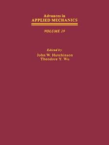 Foto Cover di ADVANCES IN APPLIED MECHANICS VOLUME 29, Ebook inglese di  edito da Elsevier Science