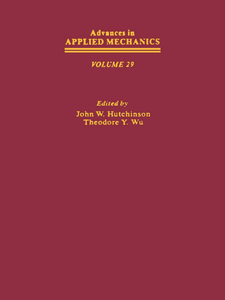 Ebook in inglese ADVANCES IN APPLIED MECHANICS VOLUME 29 -, -