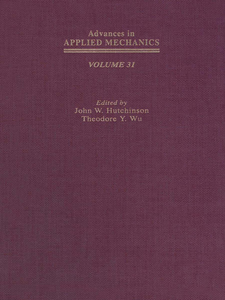 Ebook in inglese Advances in Applied Mechanics -, -
