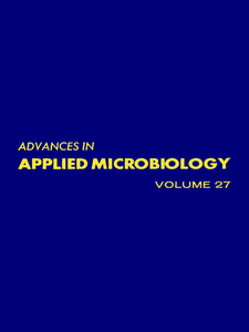 Ebook in inglese ADVANCES IN APPLIED MICROBIOLOGY VOL 27 -, -