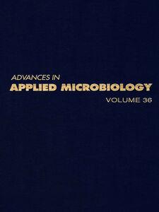 Foto Cover di ADVANCES IN APPLIED MICROBIOLOGY VOL 36, Ebook inglese di  edito da Elsevier Science