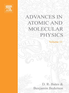Ebook in inglese ADV IN ATOMIC & MOLECULAR PHYSICS V11 -, -