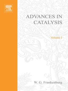 Ebook in inglese ADVANCES IN CATALYSIS VOLUME 1 -, -