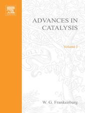 ADVANCES IN CATALYSIS VOLUME 1