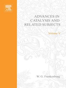 Ebook in inglese ADVANCES IN CATALYSIS VOLUME 5 -, -
