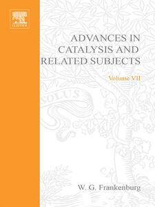 Foto Cover di ADVANCES IN CATALYSIS VOLUME 7, Ebook inglese di  edito da Elsevier Science