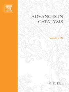 Foto Cover di ADVANCES IN CATALYSIS VOLUME 9, Ebook inglese di  edito da Elsevier Science