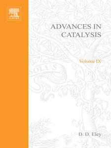 Ebook in inglese ADVANCES IN CATALYSIS VOLUME 9 -, -