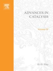 ADVANCES IN CATALYSIS VOLUME 9