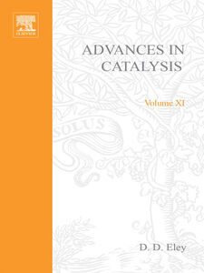 Ebook in inglese ADVANCES IN CATALYSIS VOLUME 11 -, -