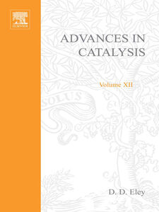 Ebook in inglese ADVANCES IN CATALYSIS VOLUME 12 -, -