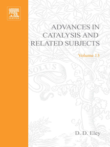 Ebook in inglese ADVANCES IN CATALYSIS VOLUME 13 -, -