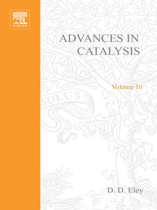 Ebook in inglese ADVANCES IN CATALYSIS VOLUME 16