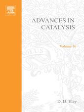 ADVANCES IN CATALYSIS VOLUME 16