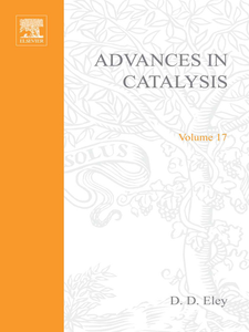 Ebook in inglese ADVANCES IN CATALYSIS VOLUME 17 -, -