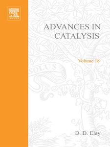 Ebook in inglese ADVANCES IN CATALYSIS VOLUME 18