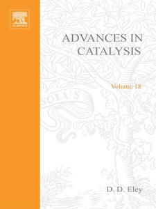 Ebook in inglese ADVANCES IN CATALYSIS VOLUME 18 -, -
