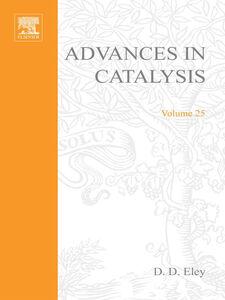 Ebook in inglese ADVANCES IN CATALYSIS VOLUME 25 -, -