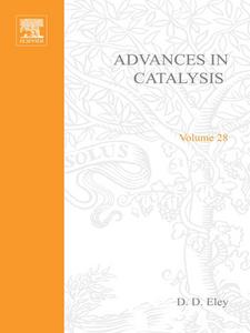 Ebook in inglese ADVANCES IN CATALYSIS VOLUME 28 -, -