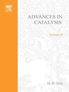 Foto Cover di ADVANCES IN CATALYSIS VOLUME 30, Ebook inglese di  edito da Elsevier Science