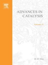ADVANCES IN CATALYSIS VOLUME 31