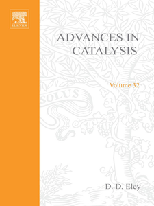 Ebook in inglese ADVANCES IN CATALYSIS VOLUME 32 -, -