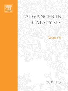 Ebook in inglese ADVANCES IN CATALYSIS VOLUME 33