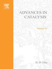 ADVANCES IN CATALYSIS VOLUME 33