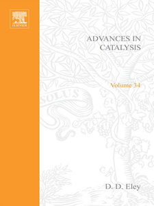 Ebook in inglese ADVANCES IN CATALYSIS VOLUME 34 -, -