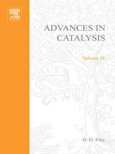Ebook in inglese ADVANCES IN CATALYSIS VOLUME 36 -, -