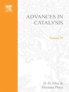 Ebook in inglese ADVANCES IN CATALYSIS VOLUME 39 -, -