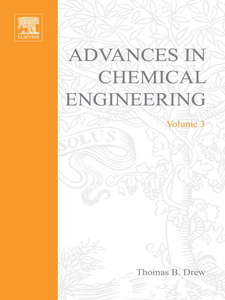 Ebook in inglese ADVANCES IN CHEMICAL ENGINEERING VOL 3 -, -