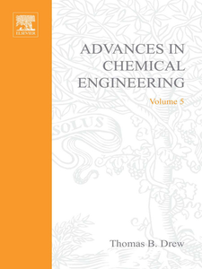 Ebook in inglese ADVANCES IN CHEMICAL ENGINEERING VOL 5 -, -