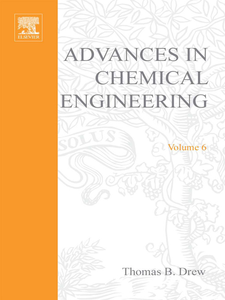 Ebook in inglese ADVANCES IN CHEMICAL ENGINEERING VOL 6 -, -