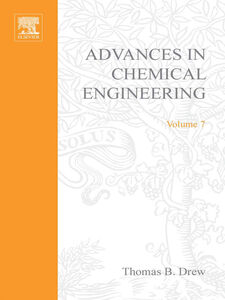 Ebook in inglese ADVANCES IN CHEMICAL ENGINEERING VOL 7 -, -