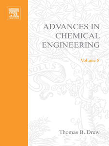 Ebook in inglese ADVANCES IN CHEMICAL ENGINEERING VOL 8