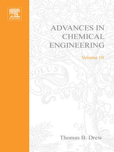 Foto Cover di ADVANCES IN CHEMICAL ENGINEERING VOL 10, Ebook inglese di  edito da Elsevier Science