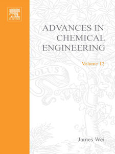 Ebook in inglese ADVANCES IN CHEMICAL ENGINEERING VOL 12 -, -
