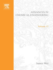 ADVANCES IN CHEMICAL ENGINEERING VOL 13