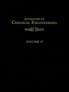 Ebook in inglese ADVANCES IN CHEMICAL ENGINEERING VOL 17 -, -