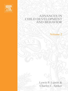 Foto Cover di ADV IN CHILD DEVELOPMENT &BEHAVIOR V 2, Ebook inglese di  edito da Elsevier Science
